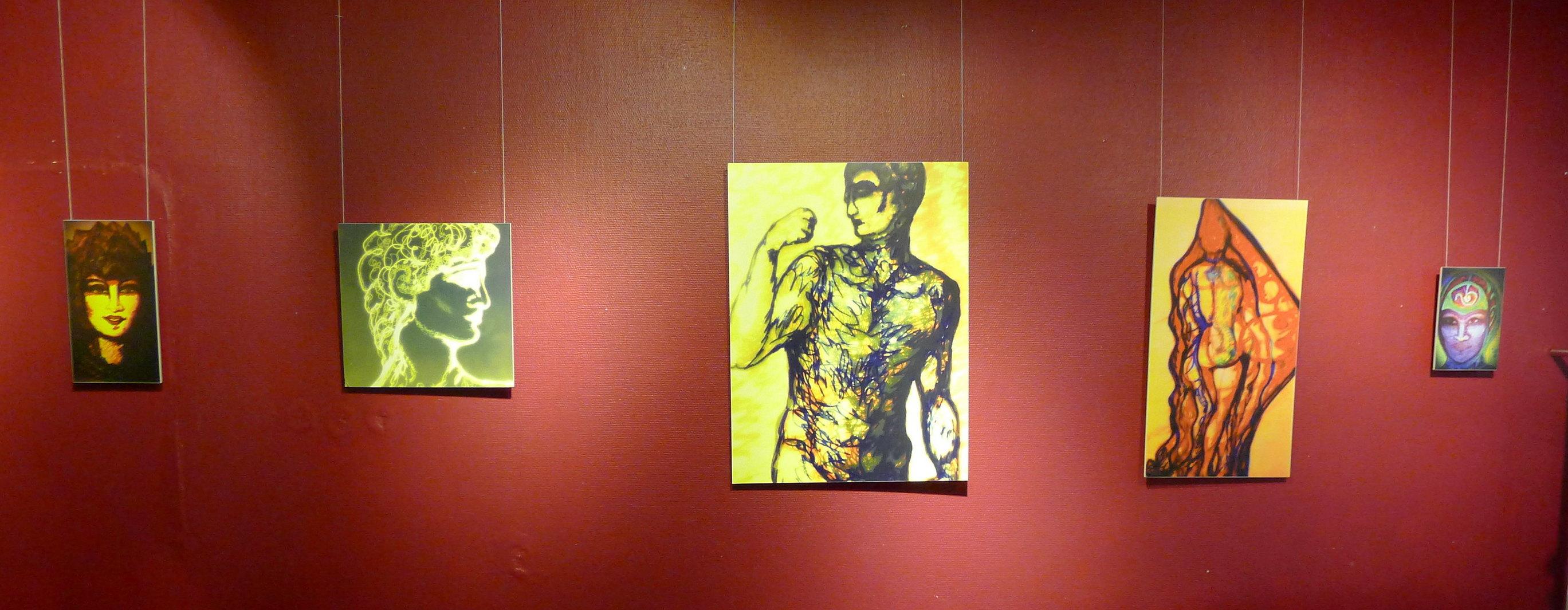 Apennina, Golden David, Yellow Aadonis in the shower, Painters dream, Asian alien